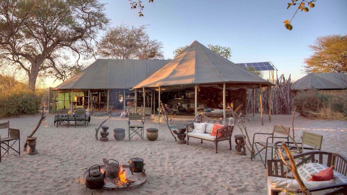 Autour du parc de Makgadikgadi